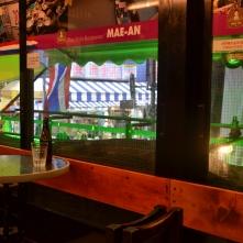 Voici l'intérieur du restaurant