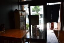 Intérieur du petit restaurant